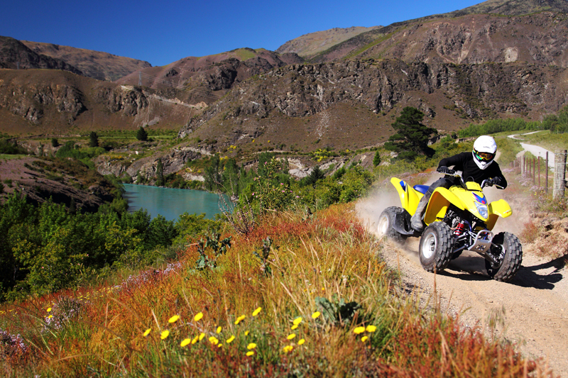 Off-road routes in New Zealand